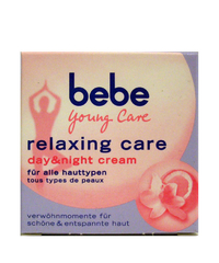 bebe, Young Care, relaxing care, day & night cream, 50 ml