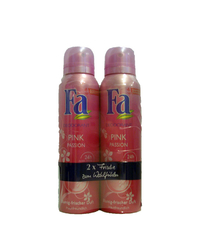 Fa, Deo Spray, Pink Passion, 2 x 150 ml