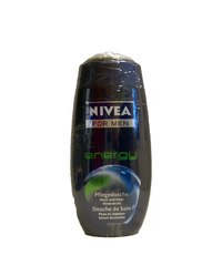 Nivea, For Men, Pflegedusche, energy, 2 x 250 ml