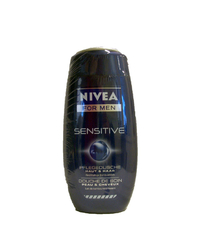 Nivea, For Men, Pflegedusche, sensitive, 2 x 250 ml