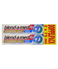 blend-a-med, Zahncreme, complete plus, extra frisch, 2 x 75 ml