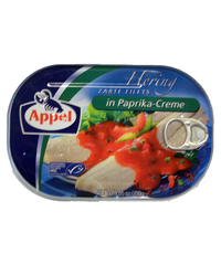 Appel, Zarte Filets in Paprika-Creme, 200 g