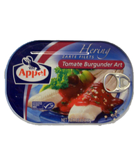 Appel, Zarte Filets, Tomate Burgunder Art, 200 g