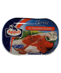 Appel, Hering Filets in Tomaten-Creme, 200 g