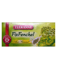 Teekanne, Fix Fenchel, 20 x 3 g