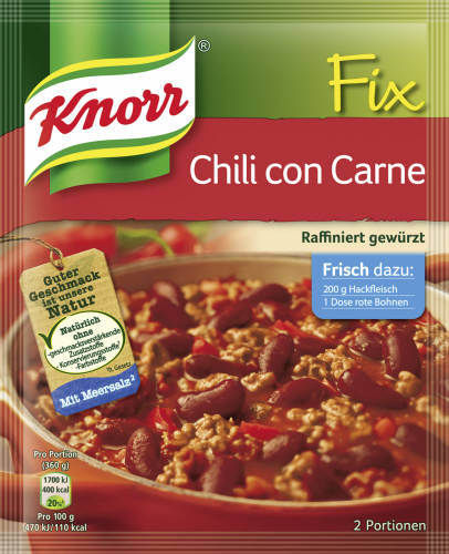 Knorr Fix, Chili con Carne, 37 g