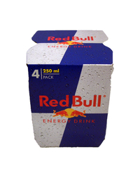 Red Bull, Energy Drink, 4 x 250 ml