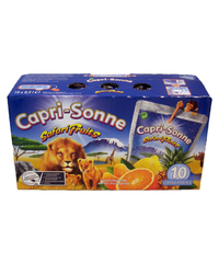 Capri Sonne, Safari Fruits, 10 x 0,2 l