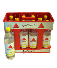 Apollinaris, Lemon, Kasten, 10 x 1 l