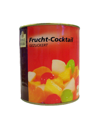 Frucht-Cocktail, gezuckert, 850 ml