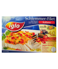 Iglo, Schlemmer-Filet, italiano, 380 g
