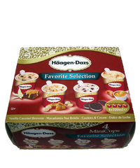 Häagen-Dazs, Favorite Selection, 4 x 100 ml