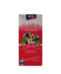 H-Milch, 1,5 %, 1 l