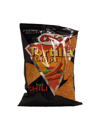Chio, Tortilla Chips, hot Chili, 125 g