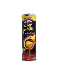 Pringles, Hot & Spicy, 190 g