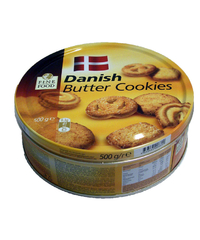 Fine Food, Danish, Butter Cookies, 500 g