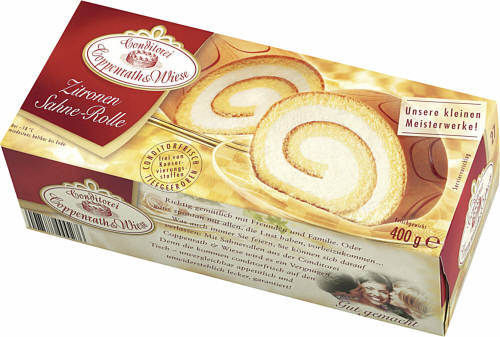 Coppenrath & Wiese, Sahne-Rolle, Zitrone, 400 g