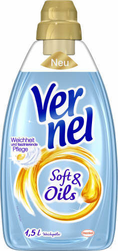 Vernell, Soft & Oil blau, 1,5 l
