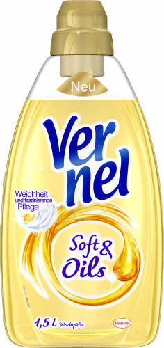 Vernell, Soft & Oil, gelb, 1,5 l