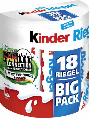 Kinderriegel, Big Pack, 18 Riegel